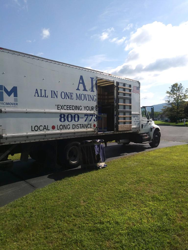 All In One Moving And Storage Truck   Ready To Go With Our Last Minute  Movers
