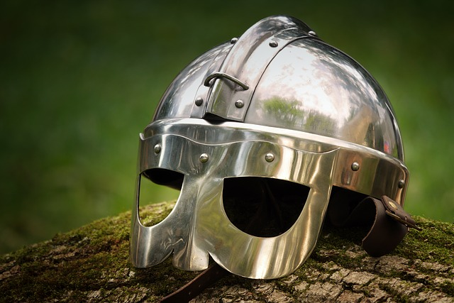 Knight helmet - one of the many things that you can see in NJ museums
