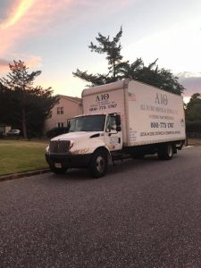 All in One Moving truck - an essential tool for your trouble-free move to Englewood Cliffs.