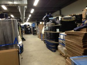 One of our storage facilities in NJ - keep your property safe until once you are evicted.
