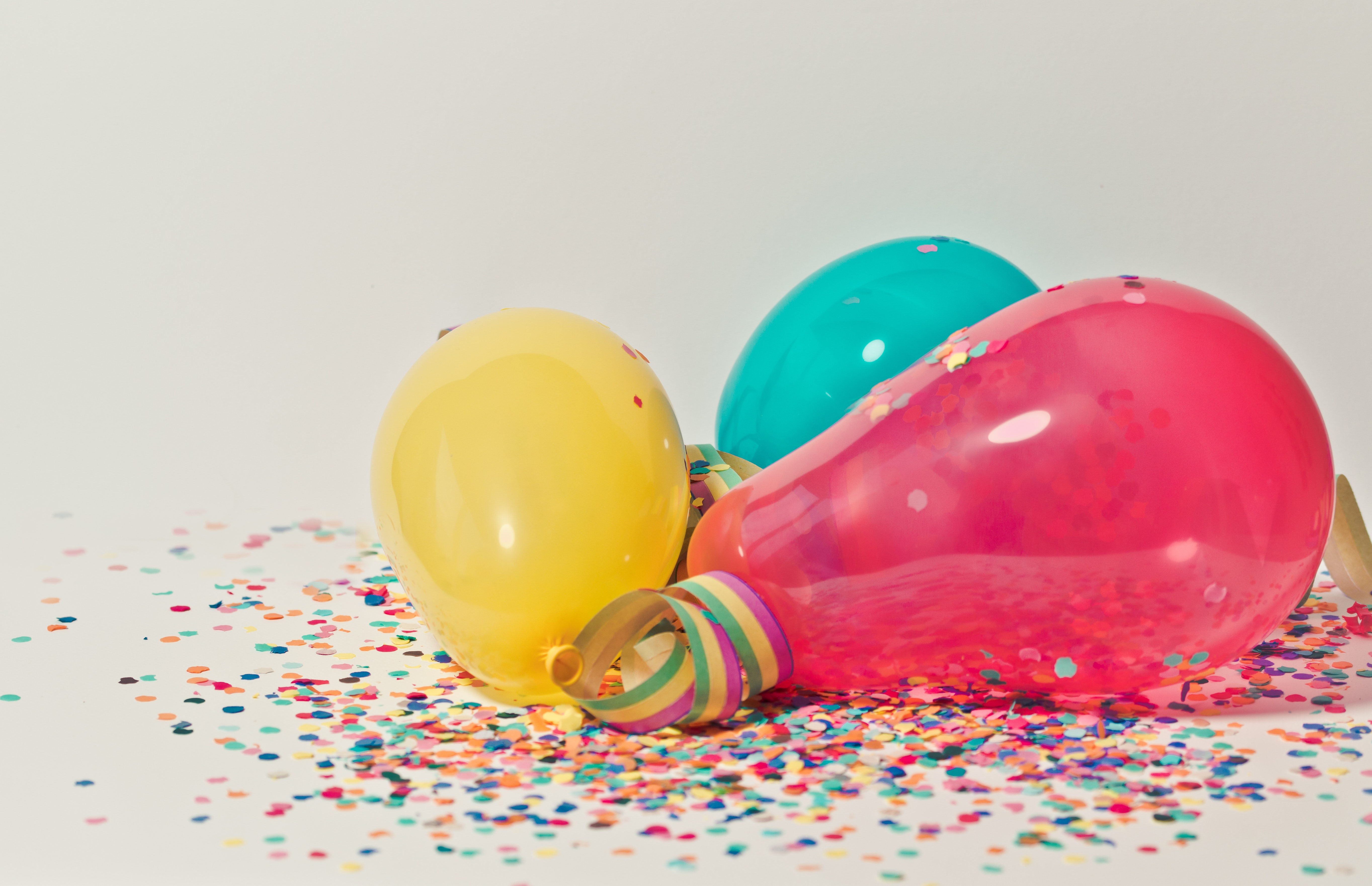 Balloons after party